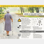 Using a walker safely - Therapy Insights - Therapy Fix