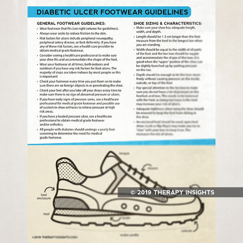 Diabetic Ulcers: Footwear Guidelines