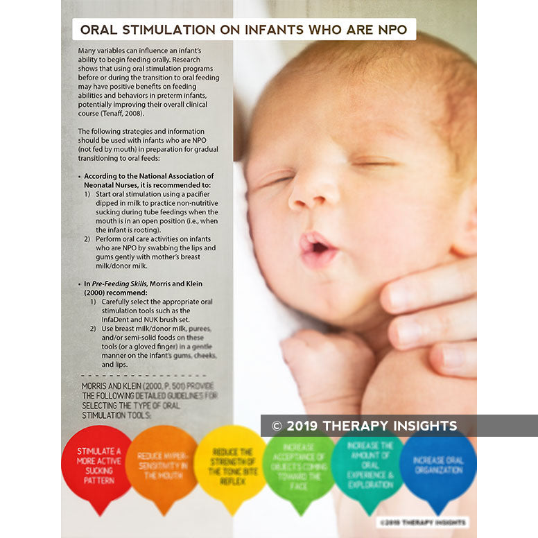 Oral Stimulation for NPO Infants
