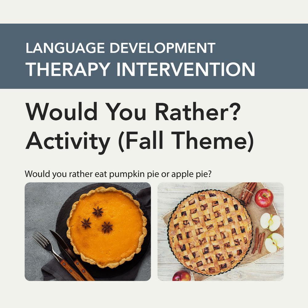 Pediatric Speech-Language Pathology Therapy Fix No. 29 (Released November 2020)