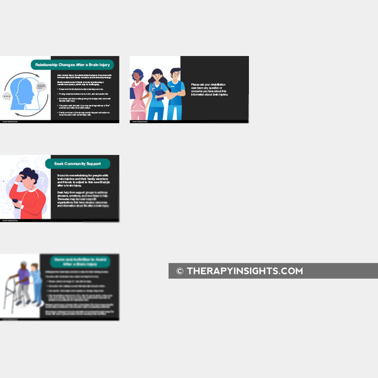 Presentation Slide Deck: Patient and Family Member Education about Brain Injury