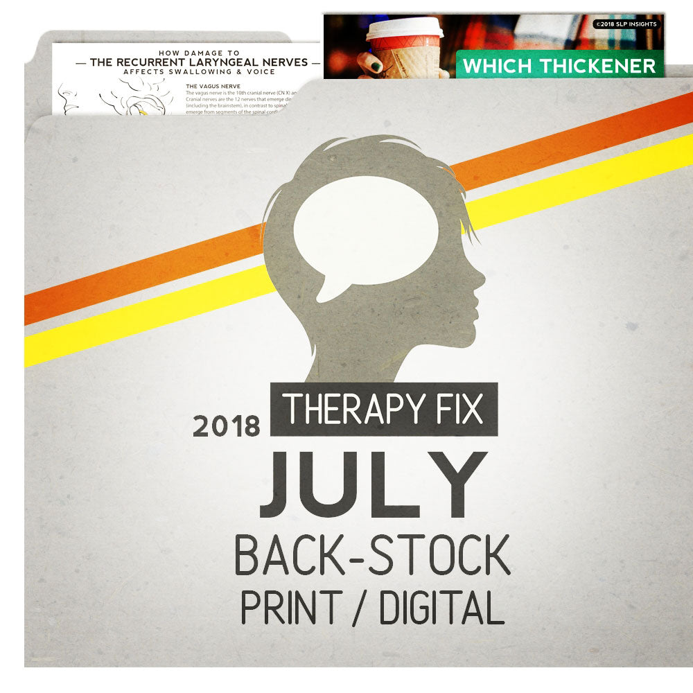 July 2018: Therapy Fix Backstock