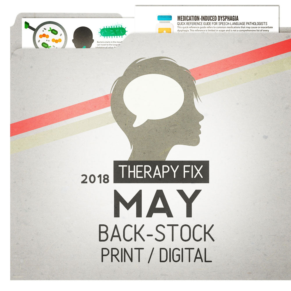 May 2018: Therapy Fix Backstock