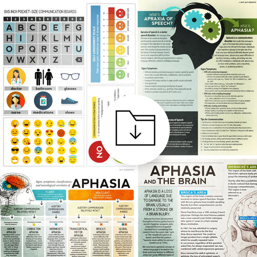 Med SLP Bundle: Aphasia (Pack 1)