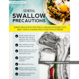 Handout: General Swallow Precautions