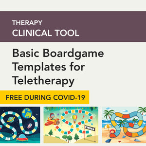 Basic Boardgame Templates for Teletherapy
