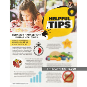 Pediatric Handout: Helpful Tips for Behavior Management at Meals