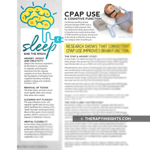 Handout: CPAP Use and Cognitive Function