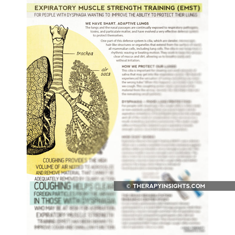 Handout: Expiratory Muscle Strength Training (EMST)