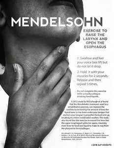 Dysphagia Intervention - the Mendelsohn - Therapy Fix - SLP Insights