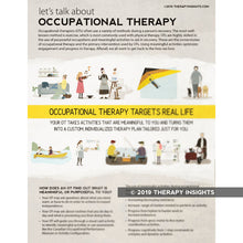 OT Bundle: Clinical Handouts for Patients, Family, Caregivers, and Staff