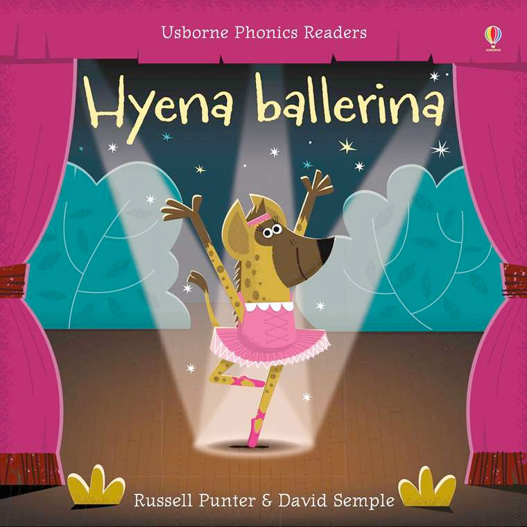 Book + Activities Pack: Hyena Ballerina