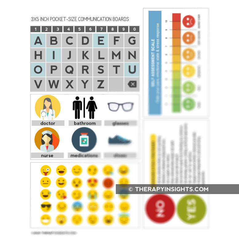 5 Pocket-Sized Low Tech AAC Cards for People with Aphasia