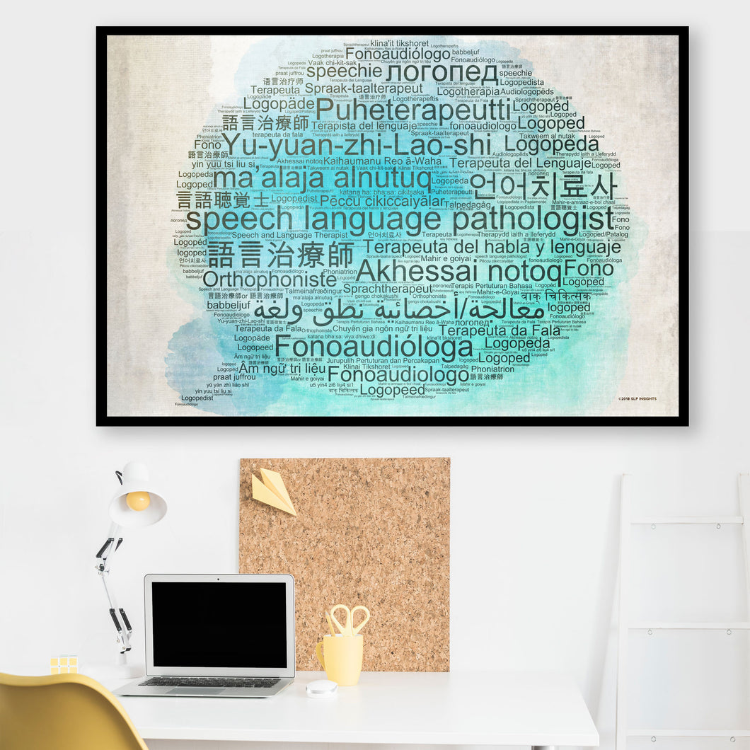 Speech-Language Pathologist in 50+ Languages Poster