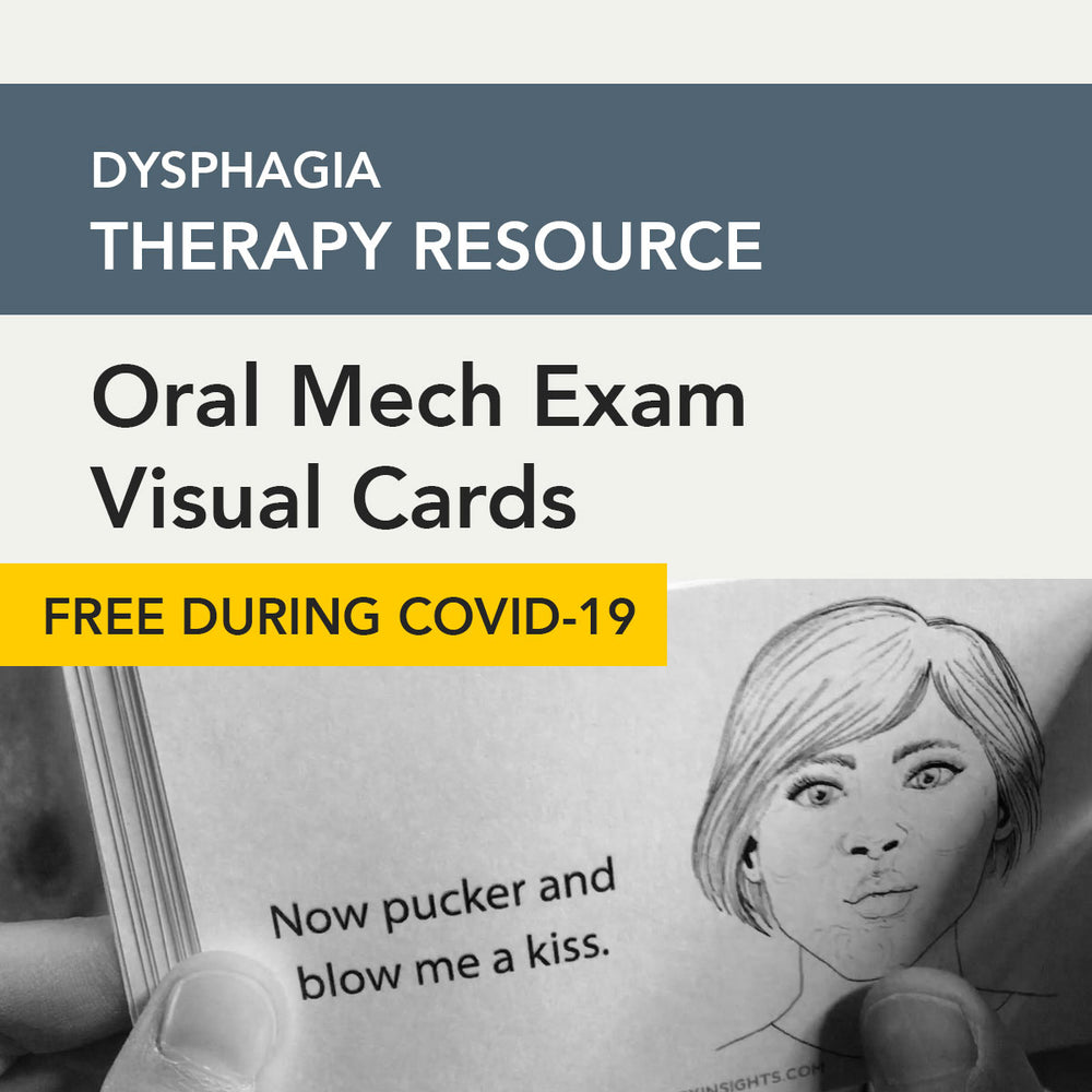 Oral Mech Exam Visual Cards