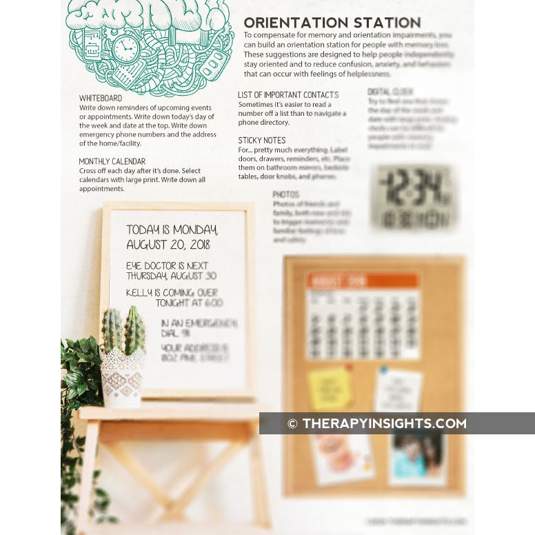 Handout: How to Create an Orientation Station