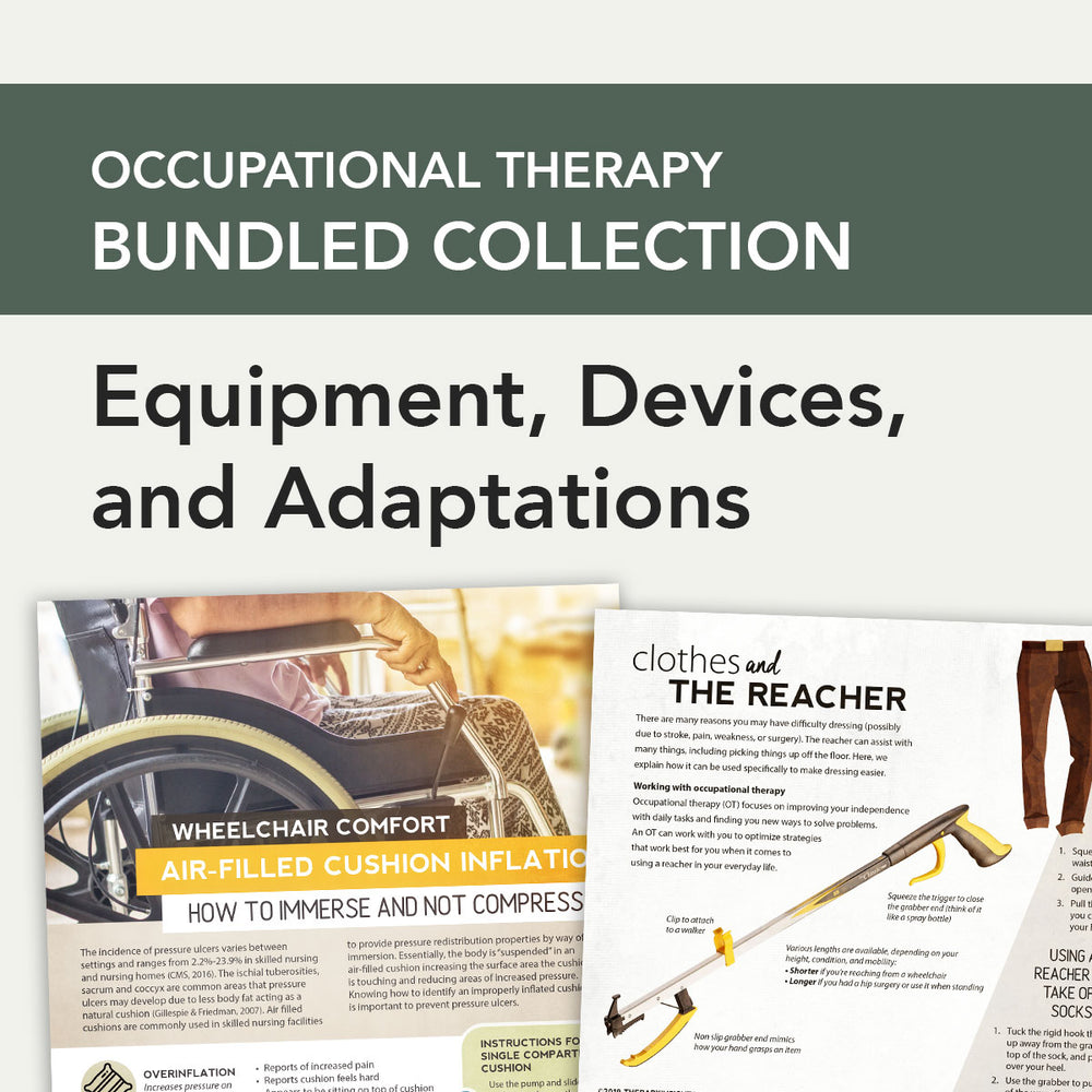 Load image into Gallery viewer, OT Bundle: Equipment, Devices, and Adaptations