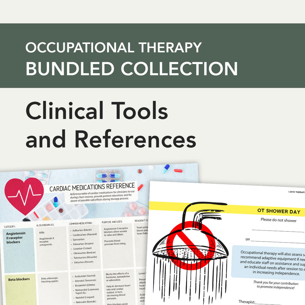 OT Bundle: Clinical Tools and References
