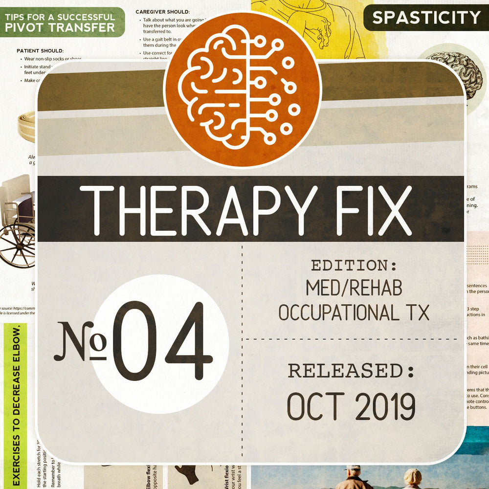 Occupational Therapy Fix No. 4 (Released Oct 2019)