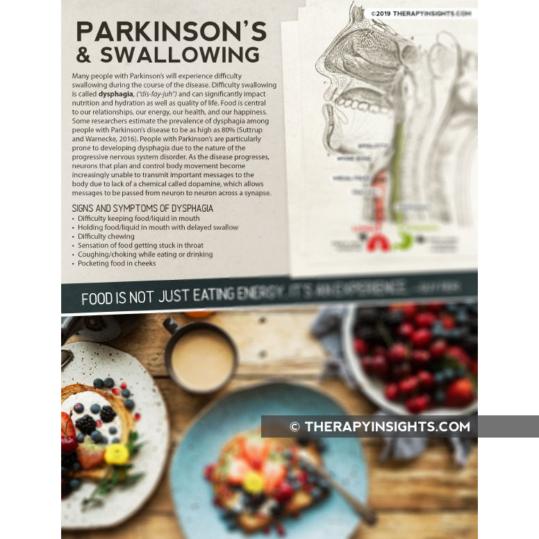 Handout: Parkinson's and Swallowing