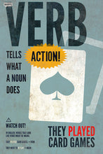 8 parts of speech posters - verb - SLP Insights