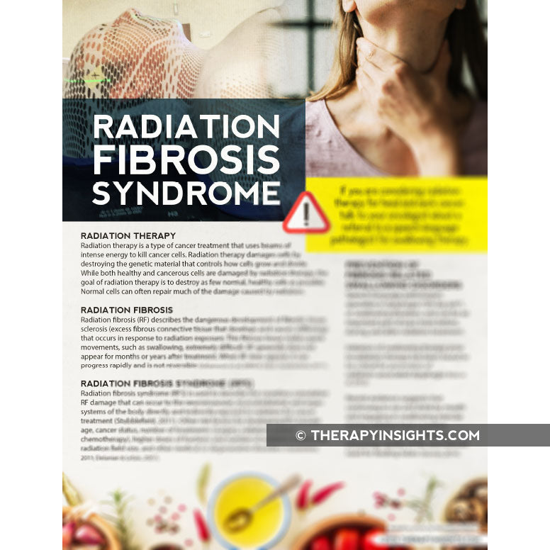 Handout: Radiation Fibrosis Syndrome