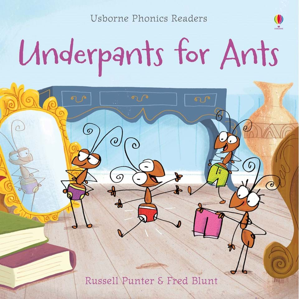 September 2018 Literacy Pack: Underpants for Ants