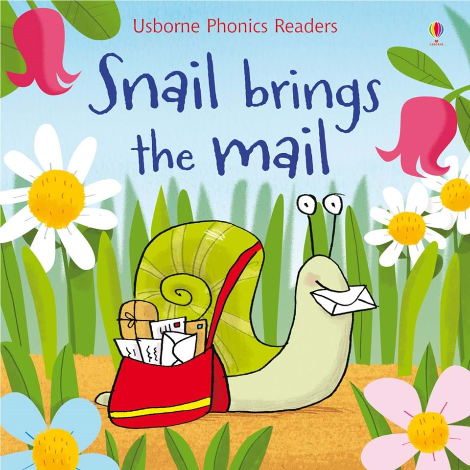 Book + Activities Pack: Snail Brings the Mail