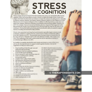 Handout: Stress and Cognition