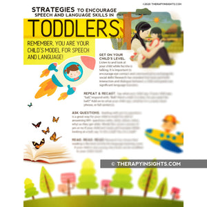 Handout: Strategies to Encourage Speech and Language Skills in Toddlers