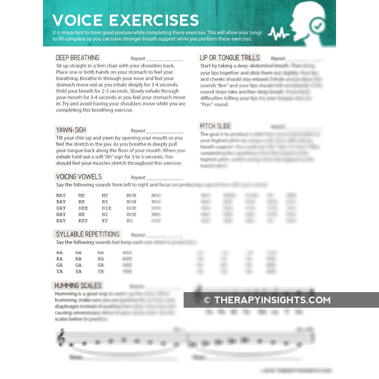 Voice Exercises