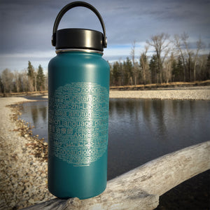 Speech-Language Pathologist in 50+ Languages 32 oz Hydroflask