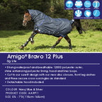 Amigo® Bravo 12 Plus Turnout Lite 0 G of fill- Disc front closure