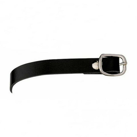 Sprenger Black Leather Spur Straps