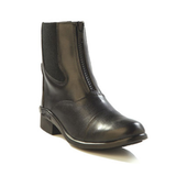 OLD WEST KIDS LEATHER PADDOCK BOOTS- Black
