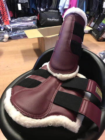NSC Fleece Lined Sport Boot-Burgundy