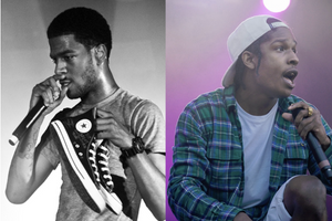Kid Cudi & A$AP Rocky collab in the works?