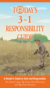 """Today's 3 In 1 Responsibility Guide"" Booklet for Hunters"