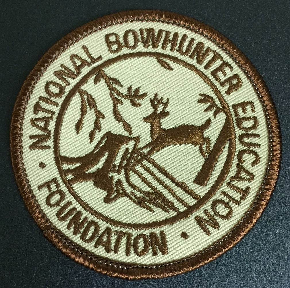 Patch, NBEF, Brown (Collectable)