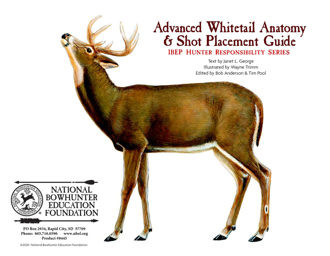 Advanced Whitetail Deer Anatomy and Shot Placement Guide