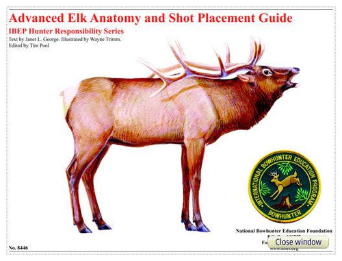 Advanced Elk Anatomy and Shot Placement Guide, w/overlays