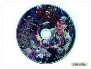 """Bowhunting Basics/Shot Placement/Big Game Recovery"", DVD"