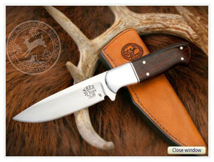 NBEF Anniversary Knife with Leather Sheath