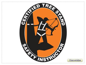 Certified Tree Stand Safety Instructor Patch