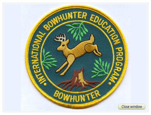 Patch, Student Bowhunter