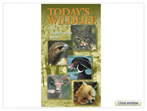 """Today's Wildlife Field Guide"" Booklet"