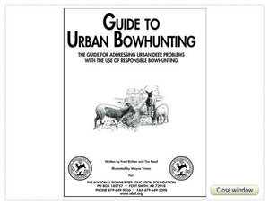 Urban Bowhunting Guide Booklet
