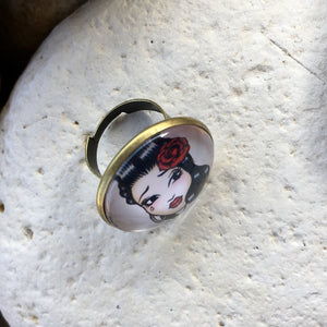 Bague tatoo vintage 25mm