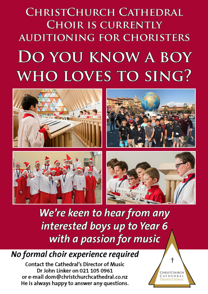Do you know a boy who can sing?