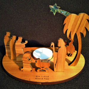 Christmas Nativity Candle set